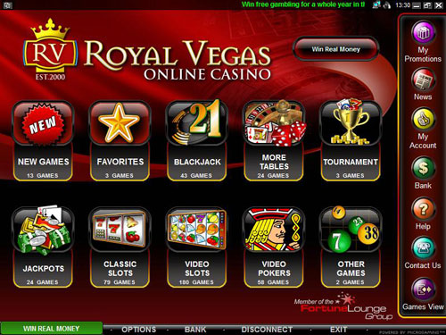 Royal Vegas Online Casino Mobile